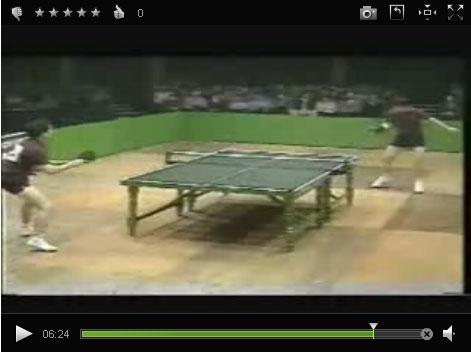 Безумный теннисный поединок