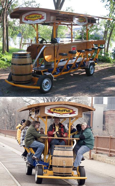 Вело паб - Pedal pub